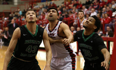 EWU uses McBroom\'s first-half flurry to get by UND