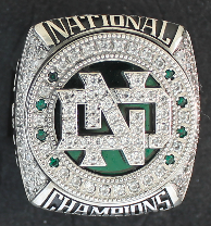 UND HOCKEY: National championship rings arrive in GF