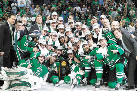 UND HOCKEY: 24 hours to a title