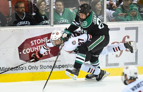 Get to know UND sophomore forward Joel Janatuinen